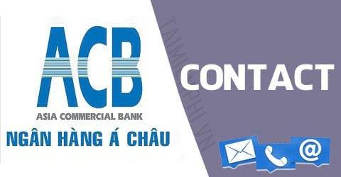 hotline ngân hàng ACB