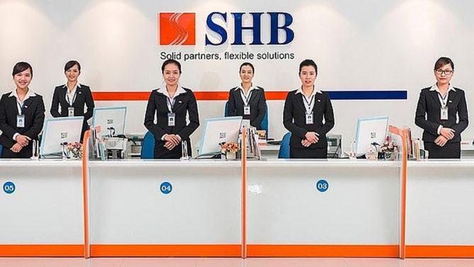 Ngân hàng SHB làm việc từ mấy giờ