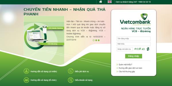 Cách chuyển tiền khác ngân hàng qua Internet Banking