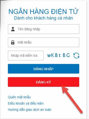 đăng ký internet banking MBBank