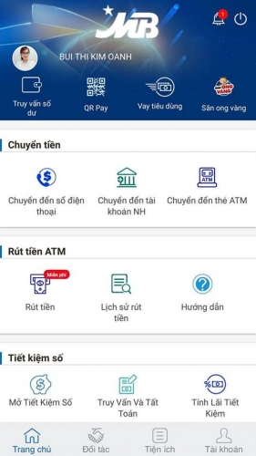 Các cách chuyển tiền ngân hàng bằng điện thoại