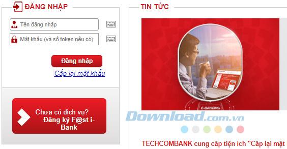 các cách tra cứu số dư tài khoản ngân hàng Techcombank