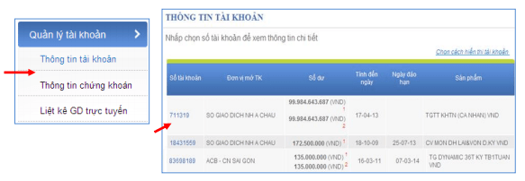Kiểm tra số dư tài khoản ngân hàng ACB qua ACB-iBanking