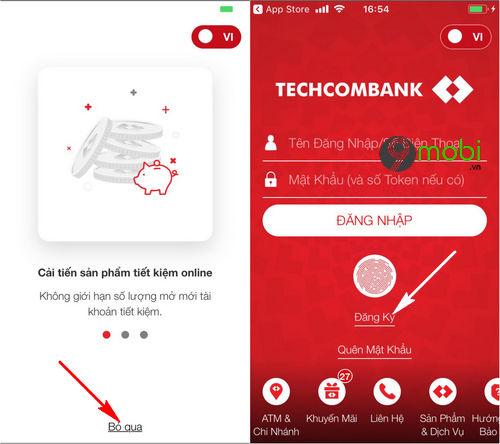 Kiểm tra số dư tài khoản Techcombankqua F@st Mobile