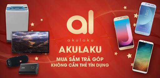 Khách hàng có thể mua hàng trả góp tại Akulaku