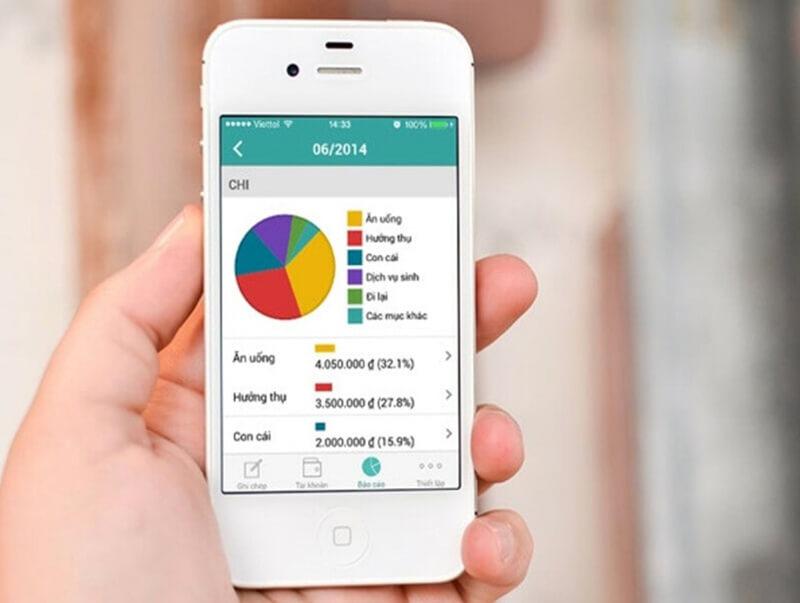 App quản lý chi tiêu giúp bạn cân đối tài chính tốt hơn