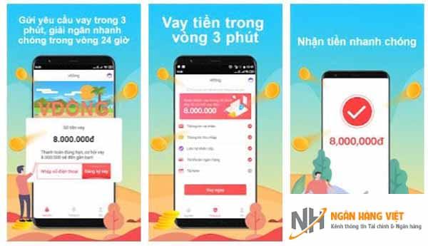Quy trình đăng ký vay tiền V Đồng