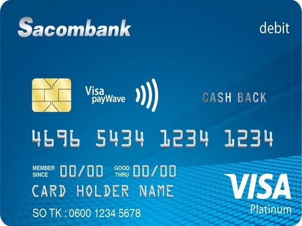 Làm thẻ ATM ngân hàng Sacombank