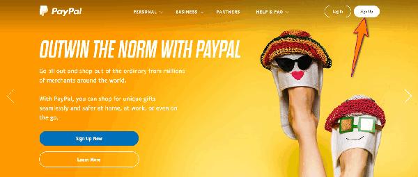 Hướng dẫn đăng ký Paypal giao diện mới nhất