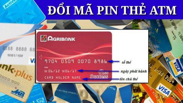 Cách đổi mã thẻ ATM Agribank