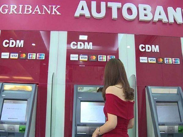 Đổi mã thẻ ATM Agribank tại cây ATM