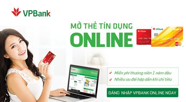 Bạn có thể đăng ký mở thẻ Mastercard VPBank online