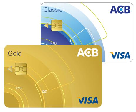 Thẻ tín dụng ngân hàng ACB