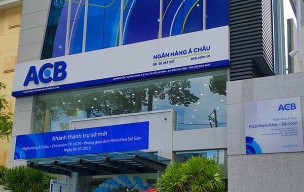 Mở thẻ tín dụng ACB tại phòng giao dịch