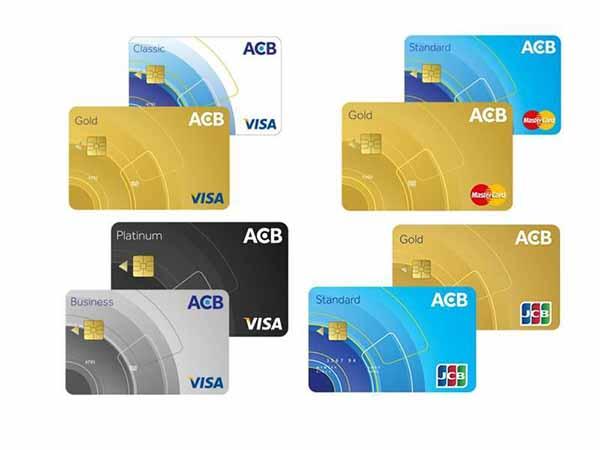 thẻ Visa ngân hàng ACB