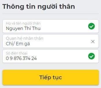 Các bước đăng ký vay tiền online trên Tamo