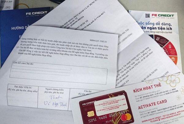 Không kích hoạt thẻ tín dụng Fe Credit thì có tính chi phí gì không?