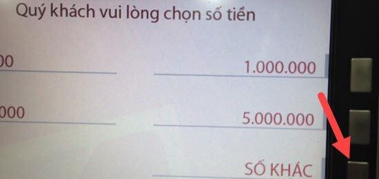 cách rút tiền thẻ ATM tại cây ATM