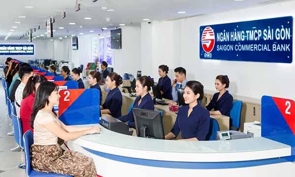 Mở thẻ Visa SCB tại PGD ngân hàng