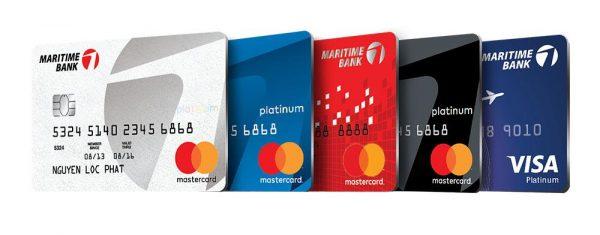 Các loại thẻ tín dụng ngân hàng MSB
