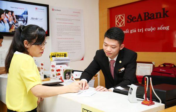 Mở thẻ tín dụng ngân hàng SeAbank tại quầy giao dịch