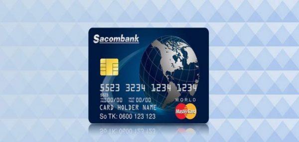 Thẻ ATM Sacombank-MasterCard