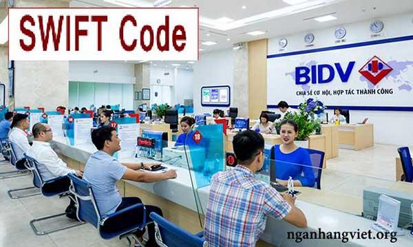 Mã Swift Code ngân hàng BIDV