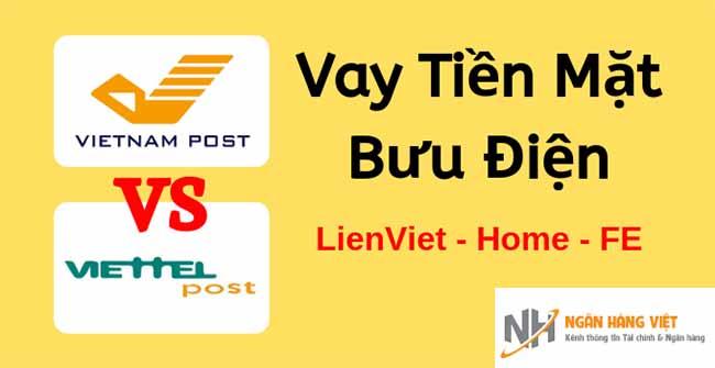 Vay tiền tại bưu điện Viettel