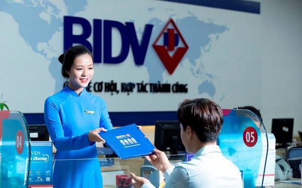 Lĩnh vực hoạt động của ngân hàng BIDV