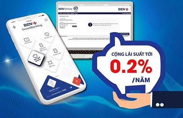 BIDV Online với nhiều tính năng nổi trội