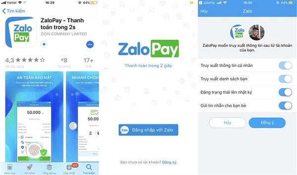 nạp tiền Zalo Pay bằng thẻ cào điện thoại