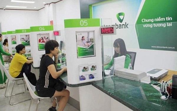 Xem lịch sử giao dịch VietcomBank tại quầy