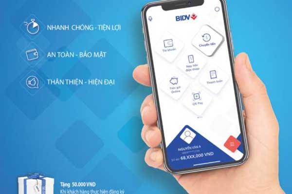 Internet Banking BIDV với nhiều tính năng ưu Việt