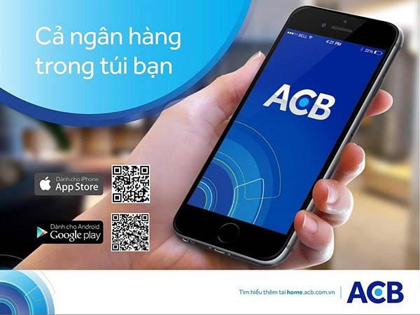 Đăng ký internet banking ngân hàng ACB