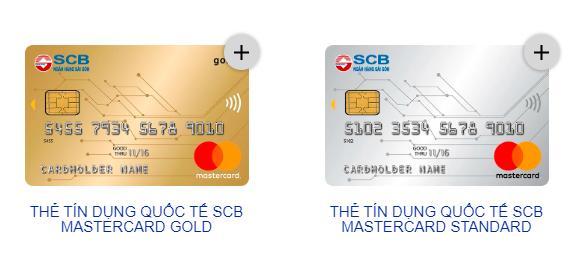 Thẻ Mastercard ngân hàng SCB