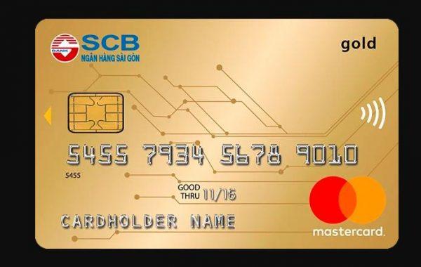 Làm thẻ Mastercard ngân hàng SCB