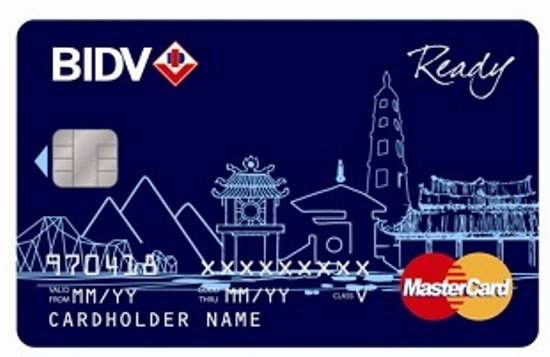 làm thẻ ATM ngân hàng BIDV
