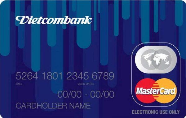 Làm thẻ Mastercard ngân hàng Vietcombank