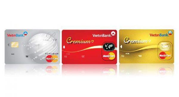 Thẻ Mastercard ngân hàng Vietinbank