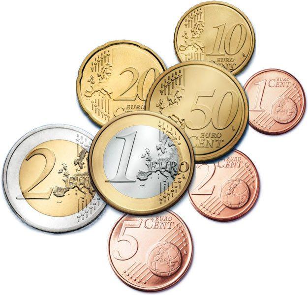 Đồng tiền kim loại Euro