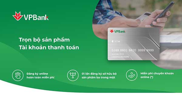 Mở tài khoản ngân hàng VPBank