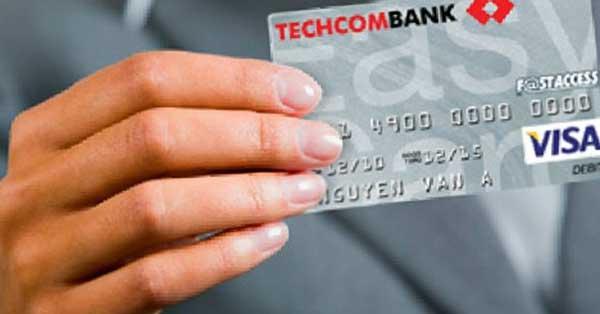 Mở thẻ ngân hàng Techcombank