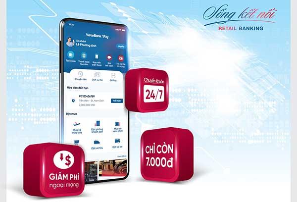 Mức phí chuyển tiền trên internet Banking của Vietinbank