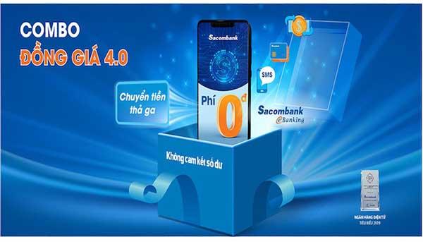 Chuyển tiền qua ngân hàng điện tử Sacombank