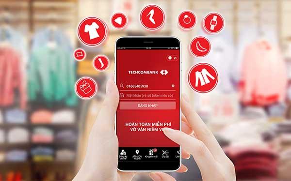 Khách hàng sẽ được miễn phí chuyển tiền qua Internet Banking của Techcombank