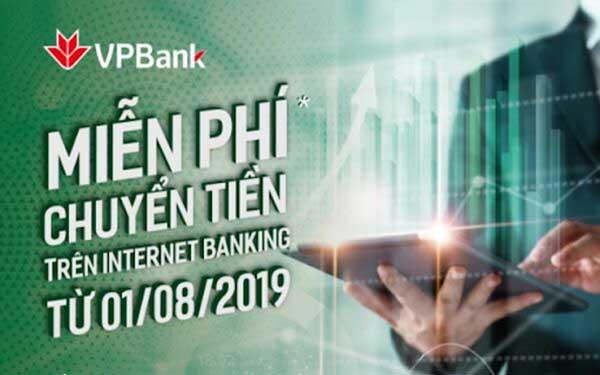 Phí chuyển tiền ngân hàng VPBank 2020