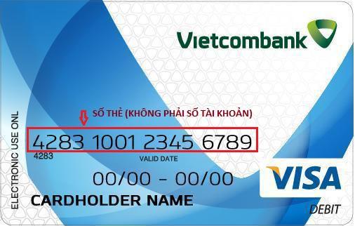 Cách kiểm tra số tài khoản ngân hàng Vietcombank