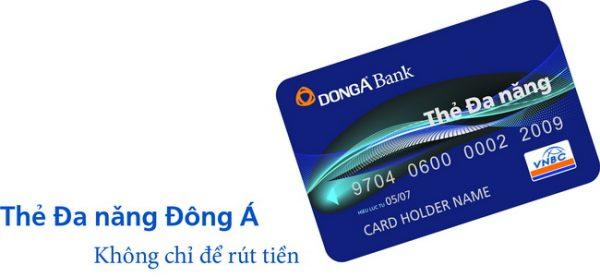 Thẻ ATM ngân hàng Đông Á