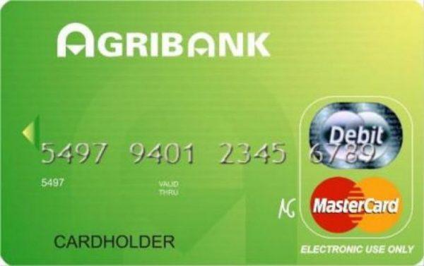 Đăng kí mở thẻ ATM Agribank