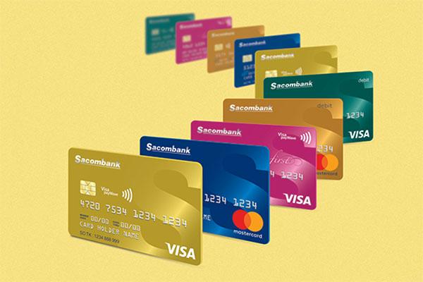 Thẻ tín dụng ngân hàng Sacombank
